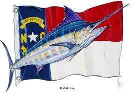 North Carolina Flag History North Carolina State Flag And Blue Marlin Mrancmarl 45 00
