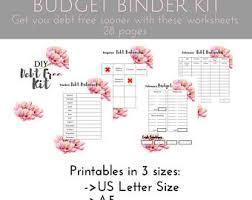 budget planner coloring pages cash envelope system bundle