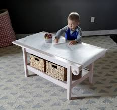 Paper Table L 41 Play Table Wood Lego Storage Play Table Folding Custom
