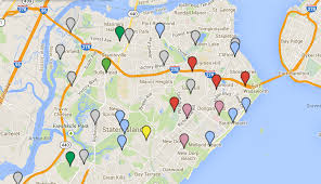 Map Staten Island Deer Here Map Tracks Staten Island Sightings Send Us Your Photos