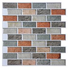 cutting peel and stick vinyl tile peel and stick wall tile peal and stick tiles kitchen backsplash 10 pieces adhesive wall