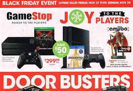 playstation black friday deals gamestop u0027s full black friday ad leaks ps4 xbox one and games