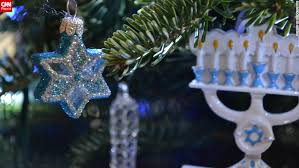 hanukkah ornaments celebrating chrismukkah shalom and hanukkah bushes cnn