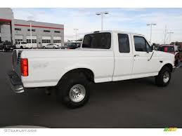 Ford F150 Truck Extended Cab - 1994 oxford white ford f150 xl extended cab 4x4 41865523 photo 2
