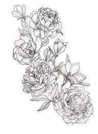25 best peonies tattoo ideas on pinterest flower tattoo designs