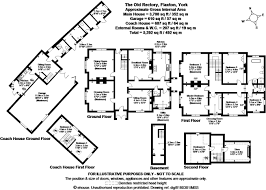 Castle Howard Floor Plan by 6 Bedroom Detached House For Sale In The Old Rectory Flaxton