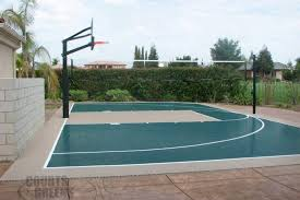 basketball courts with lights near me residential basketball court cost courts and greens