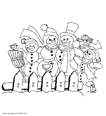 coloring page snowman family awesome snowman family coloring pages free coloring pages download