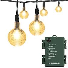 globe lights for trees
