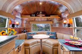 Mobile Home Interior Doors For Sale by Interior Of The Flying Cloud Airstream Restored For Orvis By