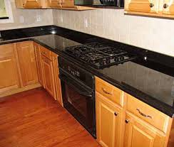 ideas for kitchen backsplash with granite countertops backsplash ideas for black granite countertops the kitchen