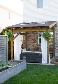 backyard covered patio kits home outdoor decoration
