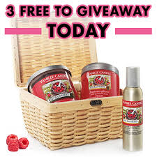 candle gift baskets win a free yankee candle gift basket
