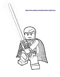 lego lego star wars coloring pages obiwan lego star