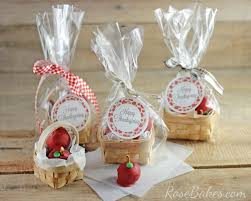 basket of apples oreo cookie balls gift for teachers