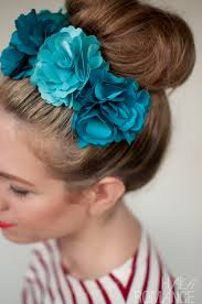 flower for hair ways to wear flowers in your hair hair