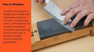 how do you sharpen kitchen knives how to sharpen the kitchen knife