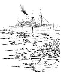 flood coloring pages the survivor of titanic coloring pages batch coloring