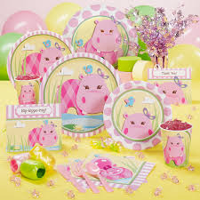 baby shower party supplies hryb pink hippo party supplies party on garth
