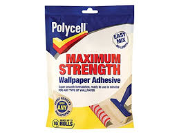 pollycell max strength wallpaper paste 10 roll tools u0026amp home