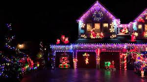 Christmas Lights Installation Toronto by Beautiful Christmas Light Setup In Mississauga Youtube