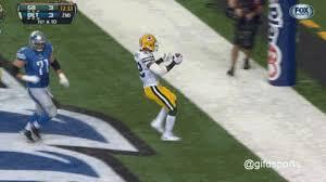burnett scored the touchdown of the green bay packers