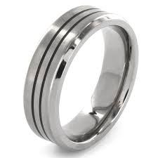 titanium wedding bands for men mens titanium wedding bands are no less appealing than gold