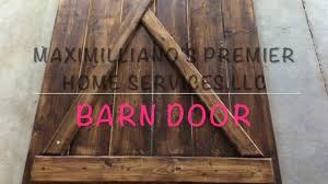 How To Make Your Own Barn Door by The 50 Diy Barn Door How To Make A Sliding Barn Door Youtube