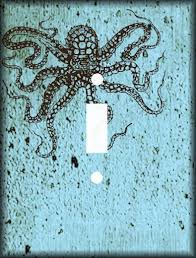 Octopus Light Everything Octopus Octopus Light Switch Cover
