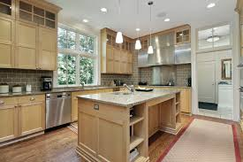 light oak cabinet kitchen ideas granite countertops with oak cabinets best choices in 2021