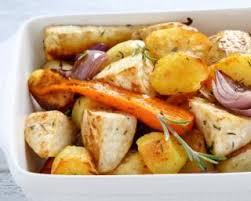cuisiner navets nouveaux recette de pommes de terre navets et carottes rôtis au four pour