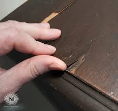 How To Fix Rocking Chair How To Fix Peeling Or Chipped Veneer Salvaged Inspirations