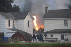 Fire Evacuations Stevens County by Photo Gallery Train Derailment Destroys Bedford County Home