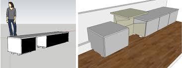 Desk Measurements A Stand Up Desk Ikea Hack Kelli Anderson