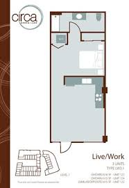 Live Work Floor Plans Circa Green Lake Apartments 6900 East Green Lake Way N Seattle