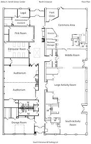 delos v smith senior citizens center center floorplan