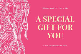 hair salon gift certificate templates canva