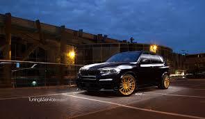 Bmw X5 Black - bmw x5 m50d gets some flashy wheels