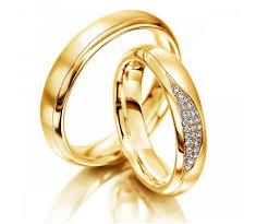 alliance en or coriandre duo d alliances en or jaune 18 cts et diamant