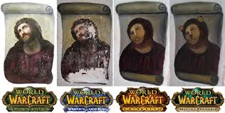 Memes Wow - world of warcraft expansions as jesus fresco memes fresco meme