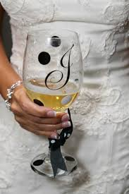 82 best painted wine glass wedding bridal images on pinterest