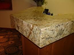 Granite Reception Desk Mitered Seamless Granite Reception Desk Integratedstone