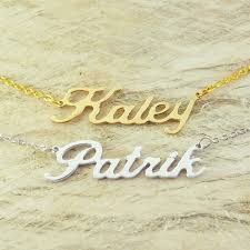 necklaces that say your name custom name necklace personalized name necklace customized your