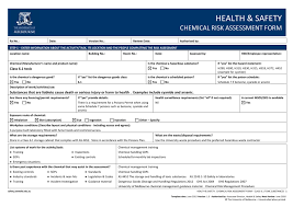 class 6 1 toxic risk assessment form safety