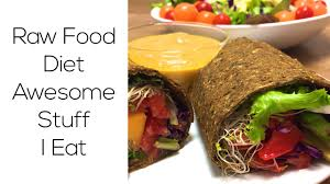 raw food diet awesome stuff i eat