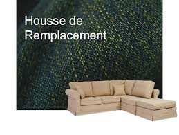 coussin d assise pour canapé housse canape angle tissu cordoue canapé deux places angle et