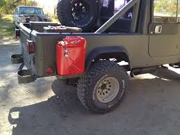 cj8 jeep let u0027s see your auxiliary gas cans mounts