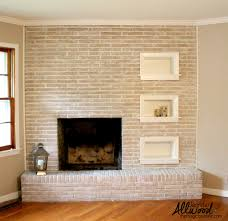How To Paint Over Dark Walls by Paint Fireplace Brick