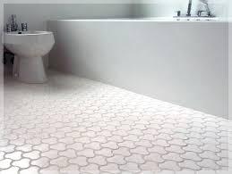 Copper Penny Tile Backsplash - gray penny tile bathroom floor best bathroom decoration