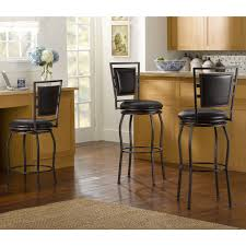 the linon townsend 3 piece adjustable stool set is perfect for